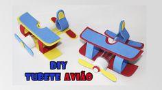 DIY crafts: tubete avião para lembrancinha do pequeno princípe