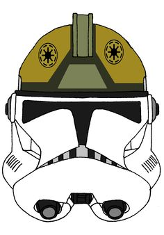 Clone Trooper Gunner's Helmet 1