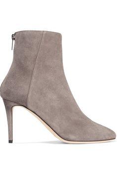 Jimmy Choo - Duke Suede Ankle Boots - Light gray - IT