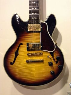 Gibson Custom Shop CS 356 2012 Vintage Sunburst