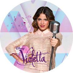 Disque En Azyme Violetta Disney - AuPaysDesHeros.com