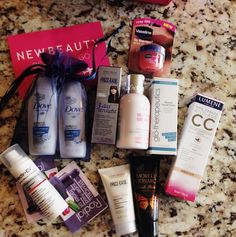Testing Out A New Beauty Box Subscription: New Beauty TestTube #bestofbeauty