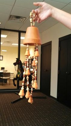Clay pot windchime, Inspiration only, I really like this idea