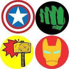 Resultado de imagem para simbolo dos vingadores para imprimir Napkin Decoupage, Decoupage Vintage, Superhero Theme Party, Superhero Logos, Desenhos Gravity Falls, Cute Cartoon, Painting On Wood, Thor, Banner