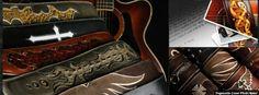 Guitar Straps, Cuffs, Journals, Portfolios, Camera Straps, Belts and More...  www.ethoscustombrands.com