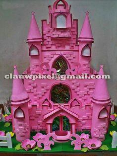 Castelo de princesas em EVA.