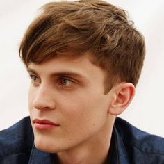 Charming Mens Fringe / Mens Bang. Mens Short Hairstyles ...