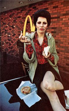 Angie Bowie...such an important part of the early Bowie years <3