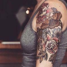 Half Sleeve Flower Tattoo, Half Sleeve Tattoos Color, Half Sleeve Tattoo Template, Unique Half Sleeve Tattoos, Animal Sleeve Tattoo, Full Sleeve Tattoo Design, Half Sleeve Tattoos Designs, Flower Tattoo Shoulder, Full Sleeve Tattoos