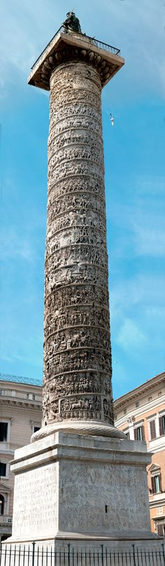 Marcus Aurelius Column in Rome.