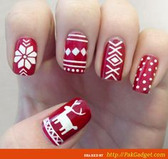 photo of Amazing and Beautiful Nail Ideas 2015 2016 for Xmas