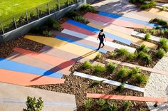 public open space by HASSELL