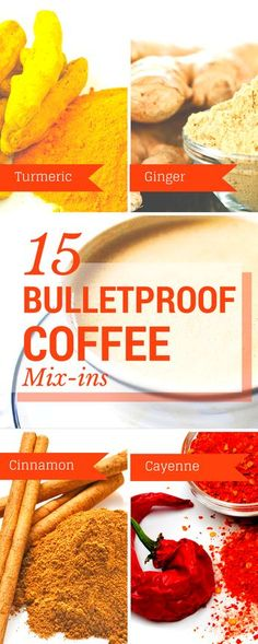 These #superfood mix-ins will not only make your Bulletproof coffee more flavorful, but they'll also give you a little boost in the morning :)