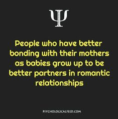 I know this because i suck at being a partner and my mom sucks at bonding!