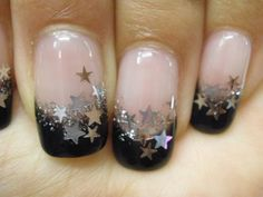 nail art designs with stars - Google Search