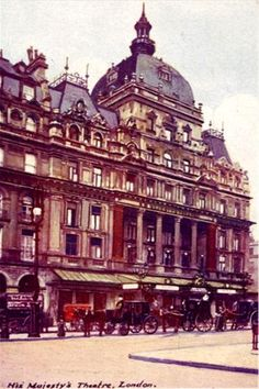 His Majestys Theatre, London, Basil Gill appeared in many productions at this Theatre.