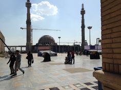Buchmesse Teheran 2014: Das soll mal die größte Moschee der Welt werden!