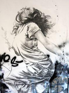 Fusain | Cécile Desserle - Site Officiel