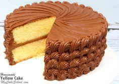 Yellow+Cake+{A+Scratch+Recipe}