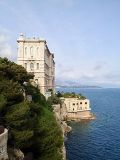 Oceanographic museum has great views over Monaco from its rooftop café