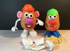 Vintage Mixed Lot Of Mr. Potato Head & Accessories