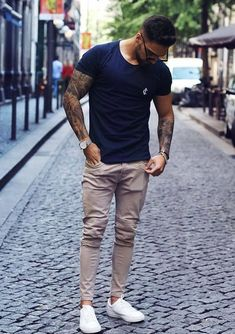 Mode Man, Summer Outfits Men, Men Summer, Outfits For Men, Herren Outfit, Suit Fashion, Fashion Guide, Fasion, Fashion Ideas