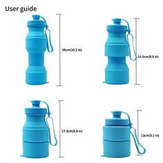 Asrisuk Foldable Collapsable Water Bottle Sky Blue 27 oz Brand New Collapsible Water Bottle, Travel Water Bottle, Custom Chevy Trucks, Industrial Design Sketch, Soap Dispensers, Screwdriver Set, Mother Gifts, Container, Mugs