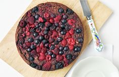 forest fruit chocolate cake- Vegan and GF
