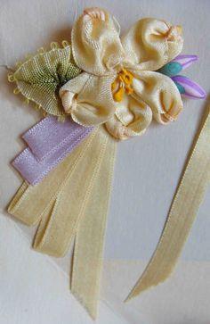 Vintage ribbonwork.
