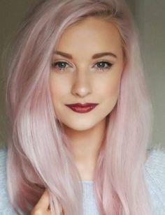 """Résultat de recherche d'images pour """"cheveux rose pastel"""""""