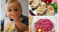 11 rýchlych a super-zdravých nátierok pre detičky: Môžu ich aj drobci do 3 rokov! Baby Food Recipes, Ham, Children, Kids, Food And Drink, Vegetables, Breakfast, Desserts, Recipes For Baby Food