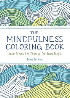 Perfect little addition to our mini library, this adult Mindfulness Coloring Book is ready to help you de-stress wherever you go. #mindfulness #coloring #littleobsessed