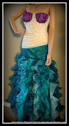 halloween express mermaid costume