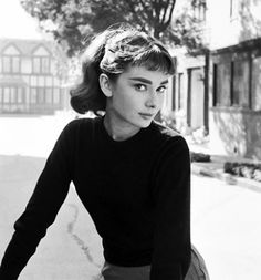 The gorgeous Audrey Hepburn