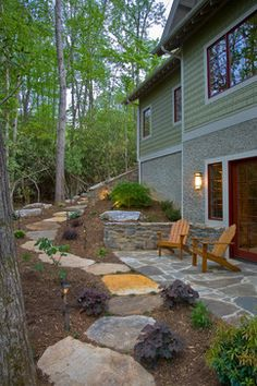 Sloped Yard Design, Pictures, Remodel, Decor and Ideas