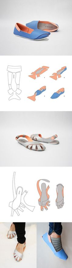 DIY Shoes? Unifold by Horatio Yuxin Han. Would this work with leather?