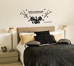 wallsticker gift-flowers Wallpaper interior Design