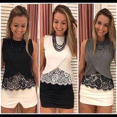 Got more from the most successful envelope blouse . Diy Fashion, Ideias Fashion, Fashion Dresses, Womens Fashion, Fashion Design, Sewing Clothes, Diy Clothes, Clothes For Women, Kurti Neck Designs