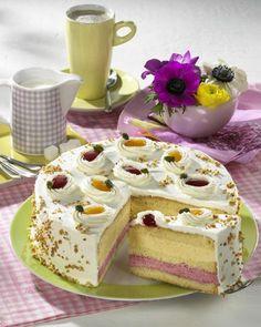 Unser beliebtes Rezept für Himbeer-Pfirsich-Torte und mehr als 55.000 weitere kostenlose Rezepte auf LECKER.de.