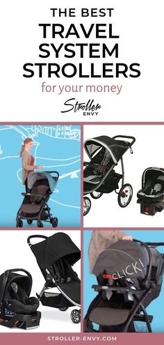 Travel system strollers come with an infant car seat. The two are made to complement each other, perfect for moms who want a seamless system. Check out the best travel system strollers for your money after the jump.   #strollerenvy #babygear #newbornbaby #parentingtips #parenting101 #babystroller #strollerreview #travelstroller #travelsystemstroller