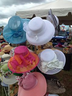 A Tisket A Tasket Hat Shoppe located 425 Market Place Antiques in Roswell GA.