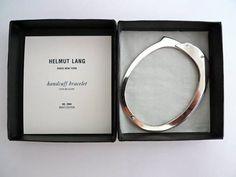 Helmut Lang - Handcuff bracelet