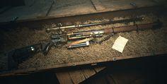 The Pneumatic Rifle by ArtOfCarlosRizo | Steampunk | 3D | CGSociety