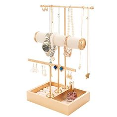 Jewelry Tree Stand, Buy Earrings, Diy Cardboard, Cool Inventions, Jewelry Holder, Jewellery Storage, Jewelry Organization, Form, Room Decor