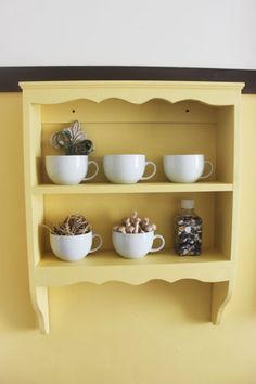 Poppies at Play: DIY Decorative Shelf~