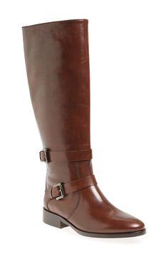Shoe crush! In love with these brown SJP 'Kelly' knee high boots.