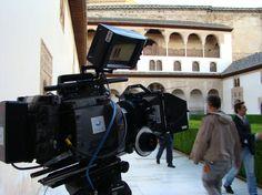 Rodaje de la 2ª temporada de Isabel en la Alhambra - Equipos de Ovide