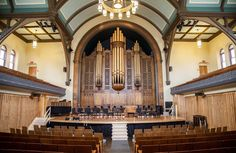 Trinity St. Paul's Church in Toronto is gorgeous! We're holding our Toronto CD…