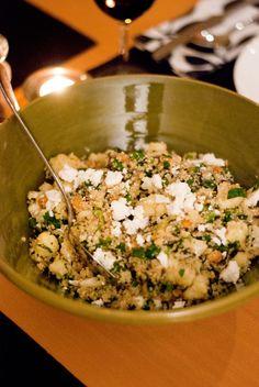 cauliflower feta salad