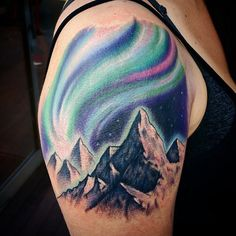 aurora boreal tattoo - Buscar con Google